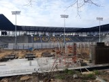 Stadion Pogoni Szczecin: coraz więcej betonu pod trybunę północną. ZDJĘCIA