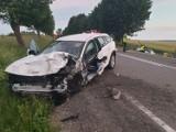 Śmiertelny wypadek w Borczu 21.06.2020. Sprawca usłyszał zarzuty prokuratorskie. W wypadku zginęły trzy osoby, siedem zostało rannych