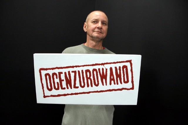 """Zbigniew Kosowski i jego praca pt. """"Ocenzurowano"""""""