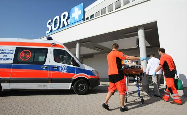 Dolnośląski Szpital Specjalistyczny imienia Marciniaka przy ulicy generała Fieldorfa we Wrocławiu.