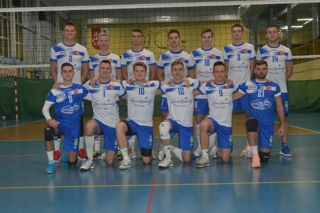 Siatkarze Bzury Ozorków występowali w grupie trzeciej drugiej ligi
