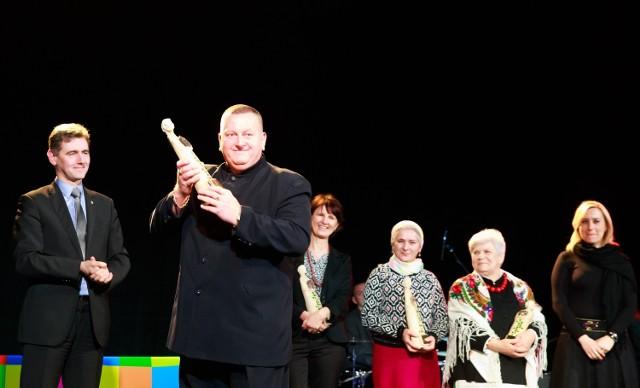 Kolejnym wyróżnionym został białostocki przedsiębiorca Wiesław Koluch, który jest twórcą pierwszej polskiej sztuki walki - Koluchstyl