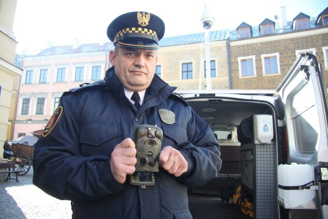 Robert Gogola, rzecznik prasowy Straży Miejskiej w Lublinie