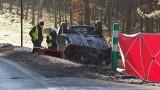 Tragiczny wypadek na drodze krajowej nr 11 koło Mostowa. Jedna osoba nie żyje [ZDJĘCIA]