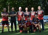 Rosomak Łódź - drużyna złożona z panów w wieku 60+, wygrała walking futbolowy turniej Senior Łódka Cup 2021. Zdjęcia