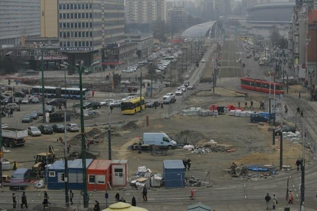 Przebudowa centrum Katowic
