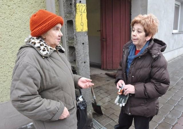 Jadwiga Laszczak i Antonina Tarbaj mówią, że po likwidacji rewiru dzielnicowych czują się mniej bezpiecznie
