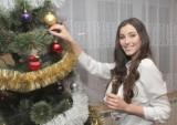 Święta Bożego Narodzenia w domu Pauliny Maziarz, Miss Polski 2016