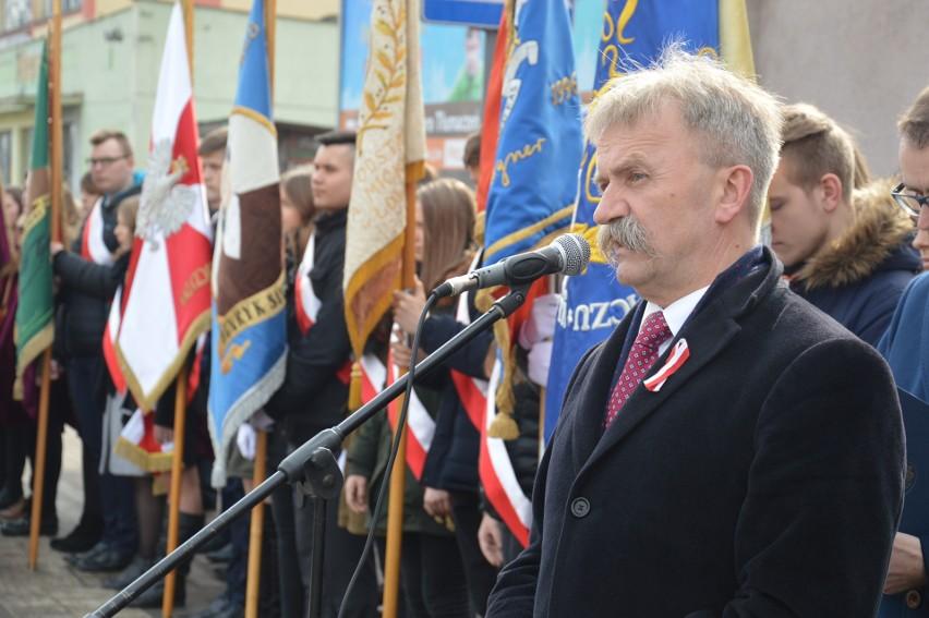 Burmistrz Krzysztof Kaliński