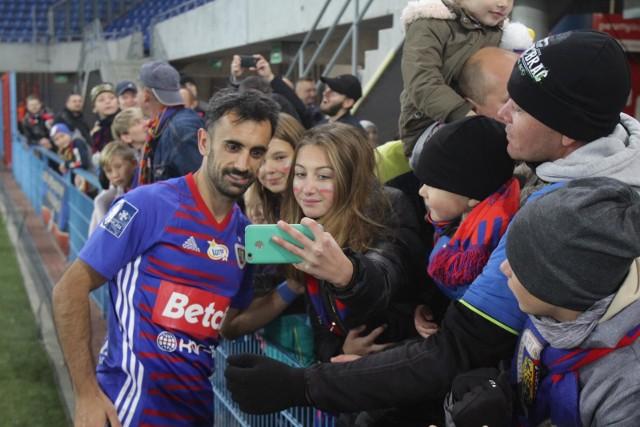 Gerard Badia jest ulubieńcem kibiców Piasta. Jest w gliwickim klubie od lutego 2014 roku.