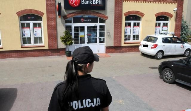 Do napadu na bank doszło przed godz. 14.00