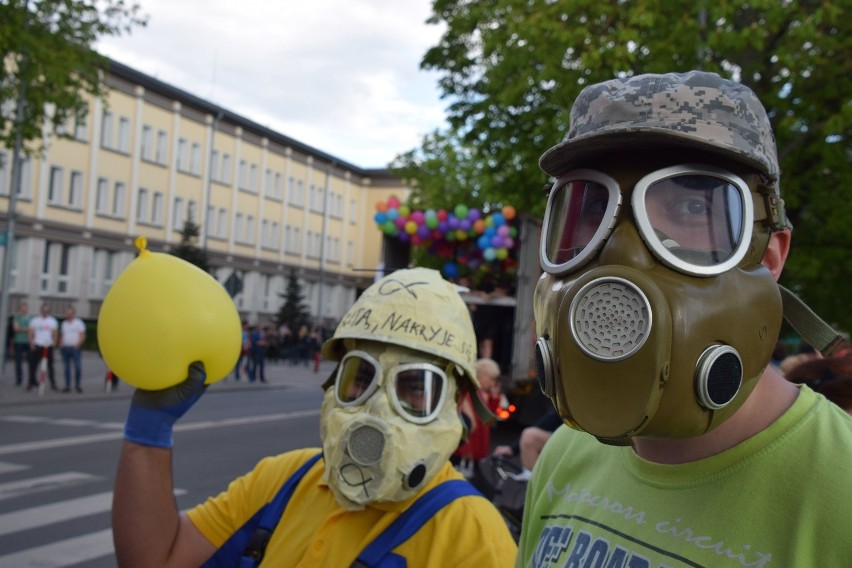 Na paradzie jak zwykle było wielu przebranych studentów.