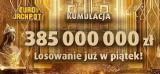 Eurojackpot wyniki 22.06.2018. Losowanie Eurojackpot 22 06 2018 - losowanie na żywo 22 czerwca 2018 - 385 mln zł [wyniki, zasady]