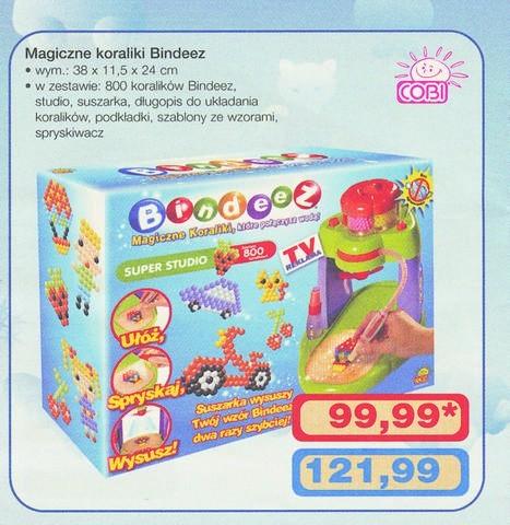 """Magiczne koraliki """"Bindeez"""", do których produkcji użyto niebezpiecznej substancji, wycofano z rynku dwa tygodnie temu. Mimo to zabawki znalazły się w najnowszej gazetce Makro. Na szczęście nie ma ich w sprzedaży."""