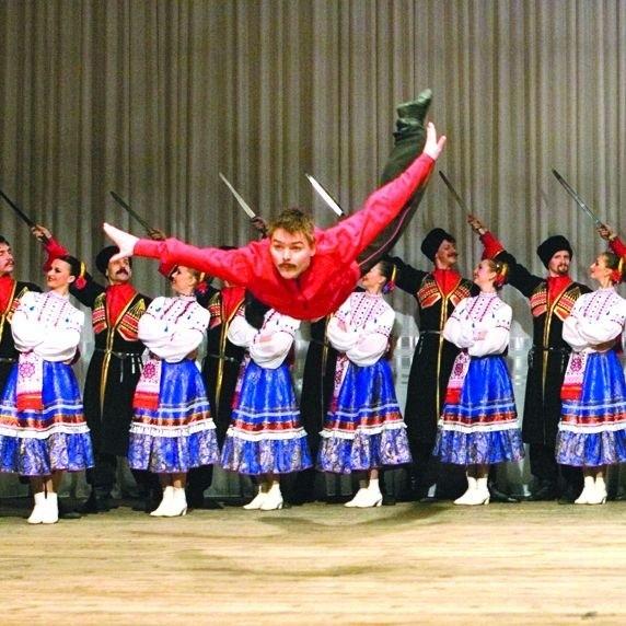 Popisy taneczne opierają się wprost zasadom grawitacji