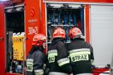 Pożar przy ulicy Lawinowej w Bydgoszczy. Palił się garaż
