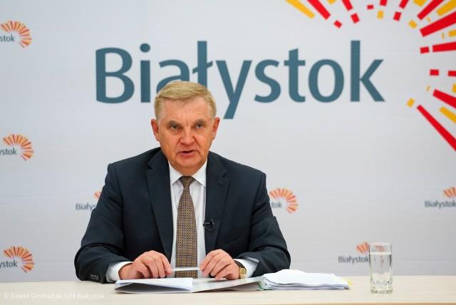 Wzrost nie powinien spowodować zbyt wielkiego wzrostu obciążenia dla podatników - uzasadnia w projekcie uchwały prezydent Tadeusz Truskolaski.