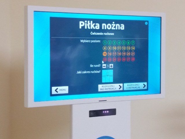 Neuroforma to program komputerowy do samodzielnych ćwiczeń ruchowych i poznawczych, tworzony przez ekspertów z dziedziny neurorehabilitacji i neuropsychologii. Program skierowany jest do pacjentów ze schorzeniami i urazami neurologicznymi. W szczególności wspiera rehabilitację pacjentów po przebytym udarze czy urazie mózgu. Sprzęt kosztował 92 600 zł.