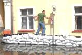 Powódź w Krośnie Odrzańskim. Minęło już 11 lat odkąd Krosno było pod wodą. Zobaczcie, jak wyglądała powódź w mieście w 2010 roku