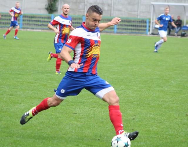 Krzysztof Zawora strzelił dwa gole dla Kaszowianki