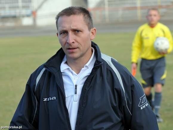 Maciej Karabasz, trener KP Polonii Bydgoszcz.