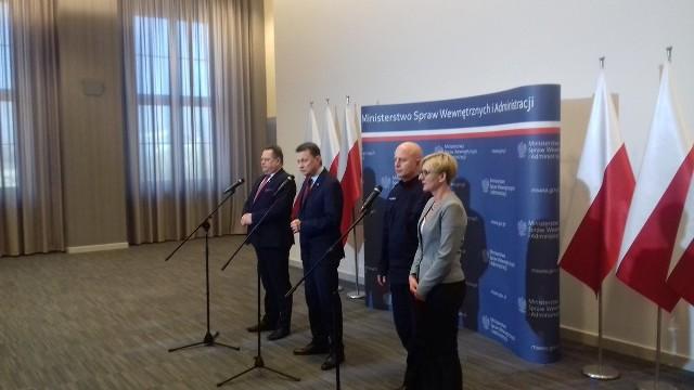 Konferencja prasowa ministra Błaszczaka