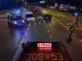 Wypadek na DK5. Jedna osoba ranna w zderzeniu na drodze z Osielska do Bydgoszczy [zdjęcia]