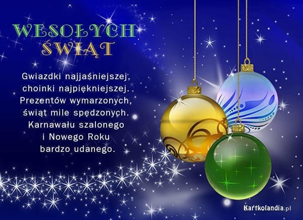 życzenia świąteczne Smsy Najlepsze życzenia Wierszyki Smsy