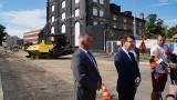 Trwa wyczekiwany remont ulicy Wardyńskiego w Ostrowcu. W centrum miasta spore utrudnienia [ZDJĘCIA]