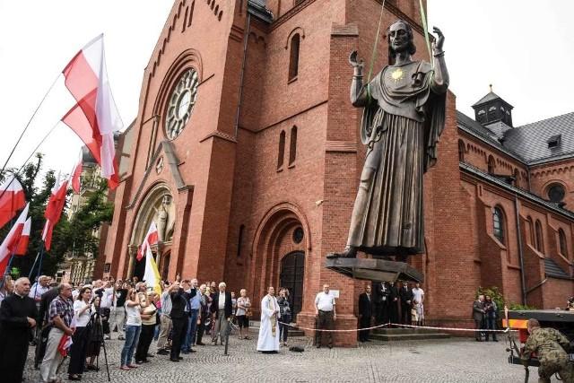 Figura Chrystusa już w Poznaniu