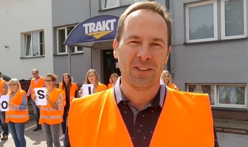 Pracownicy Traktu odpowiedzieli na nominację firmy Hochtrans i dołączyli do GaszynChallenege