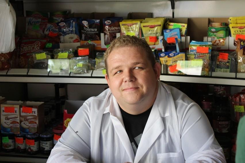 Michał Owsiak z Kleszczewa to według jego klientów, prawdziwy Supersprzedawca.