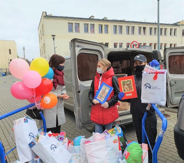 Ciężko chore dzieci ze szpitali w Bydgoszczy obdarowane