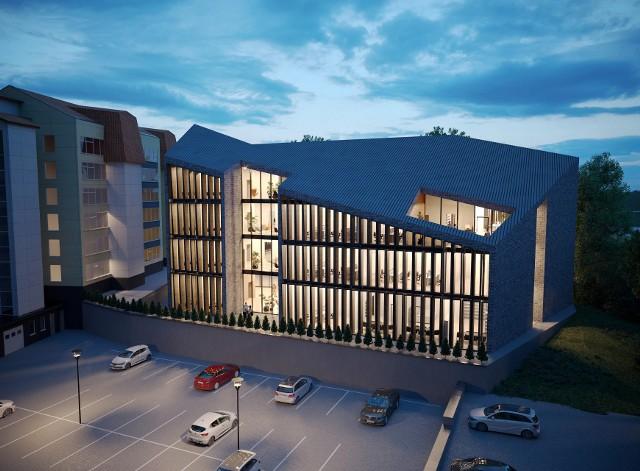 Tak ma wyglądać nowy budynek wileńskiej filii Uniwersytetu w Białymstoku