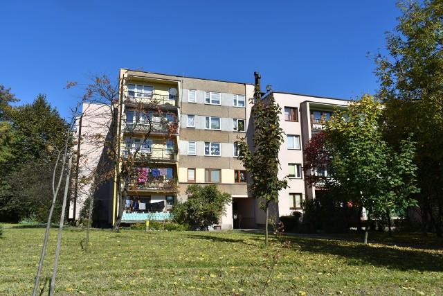 Ulica Kochanowskiego w Olkuszu
