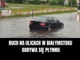 MEMY o burzach i ulewach 2021. Najlepsze memy i obrazki o burzy czerwiec 2021. Internauci śmieją się z pogody