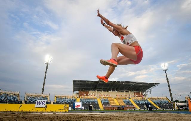 Karolina Kucharczyk pewnie sięgnęła po złoty medal w skoku w dal