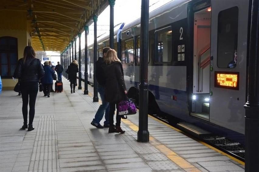 Pociągi Łódź - Częstochowa kursują w nieco zmienionych godzinach
