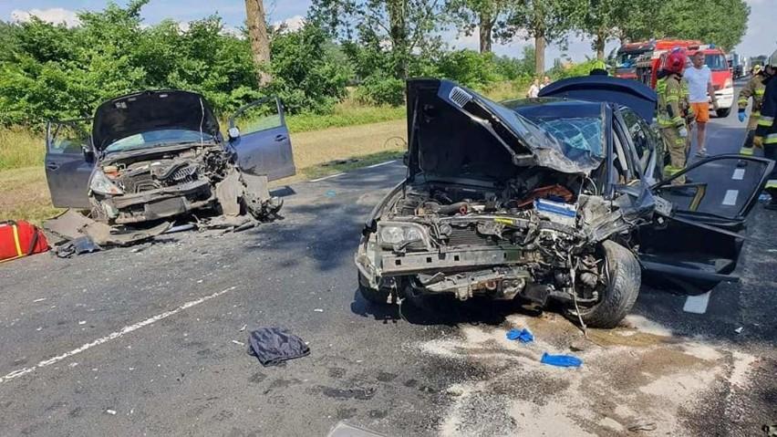 Do groźnego wypadku doszło w niedzielę, 11 lipca, na drodze...
