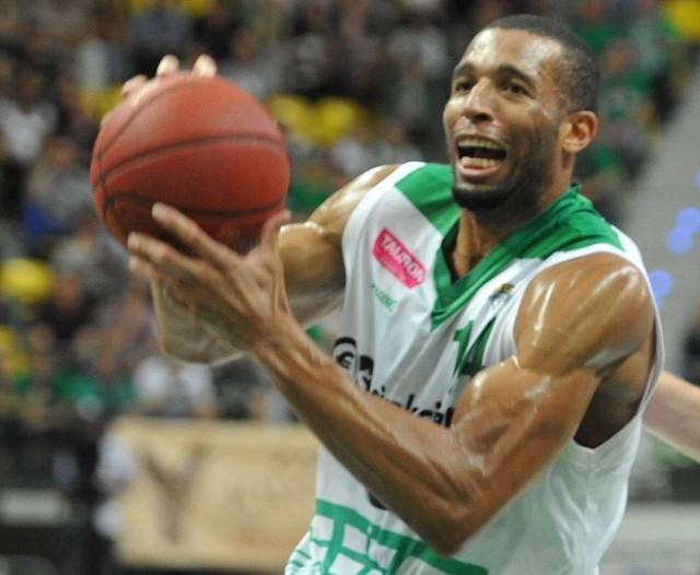 Quinton Hosley ze Stelmetu Zielona Góra zapisał na swoim koncie 15 punktów i 5 asyst.