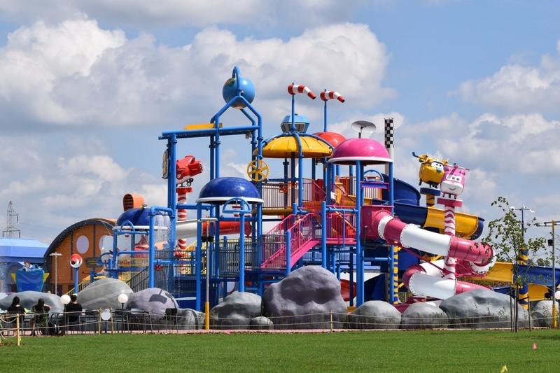 Majaland to duży park rozrywki, który znajduje się w...