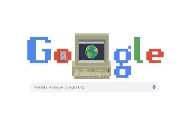 Tak wygląda Google Doodle z okazji 30. rocznicy powstania World Wide Web.