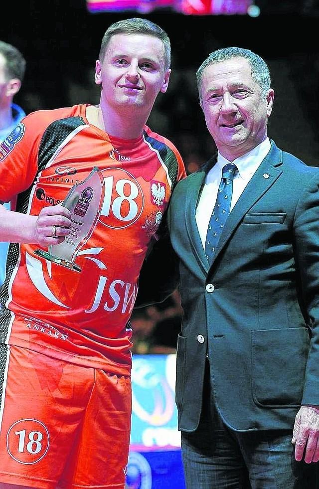 Libero Damian Wojtaszek został wyróżniony w Ankarze