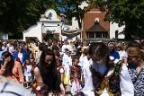 Tłumy na procesji Bożego Ciała w podkrakowskiej Rudawie [GALERIA]