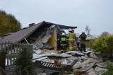 Tragedia w Łódzkiem! Doszło do wybuchu w domu jednorodzinnym. ZDJĘCIA