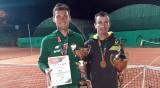 Złote medale tenisistów Uniwersytetu Łódzkiego. Dali radę bez Kamila Majchrzaka