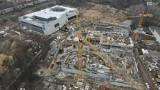 Fabryka Wody w Szczecinie. Zobacz pierwsze wiosenne zdjęcia z drona. Jak idzie budowa? - 26.03.2021