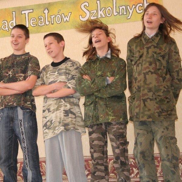 Unisławianie zdobyli pierwsze miejsce w  kategorii szkół gimnazjalnych