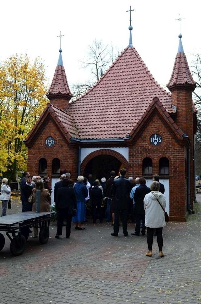 Pogrzeb Wojciecha Kroloppa na poznańskim Górczynie