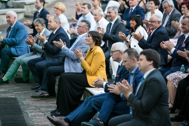 Galę Nagród Marszałka Województwa Kujawsko-Pomorskiego zorganizowano w Muzeum Etnograficznym w Toruniu 17 czerwca